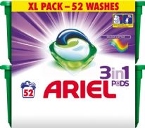 Ariel 3 in1 Pods Colour - Pack 52